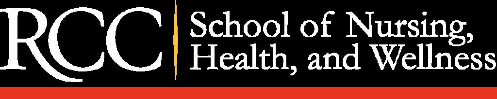 RCC School of Nursing, Health and Wellness Logo